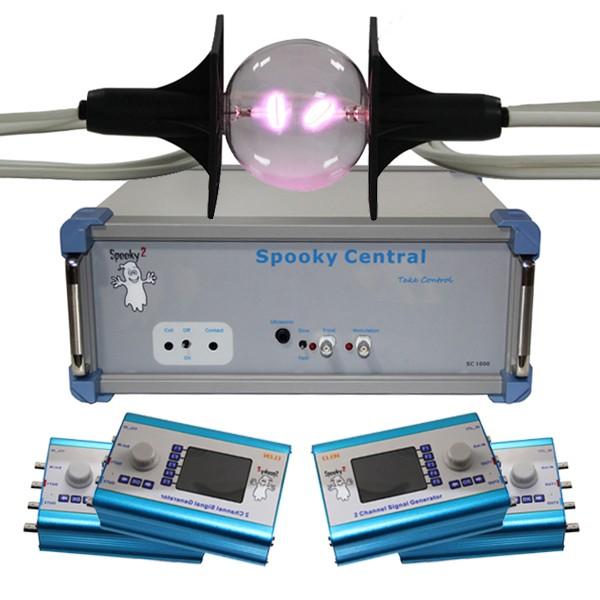 Spooky Central kit avancé avec tube plasma phanotron