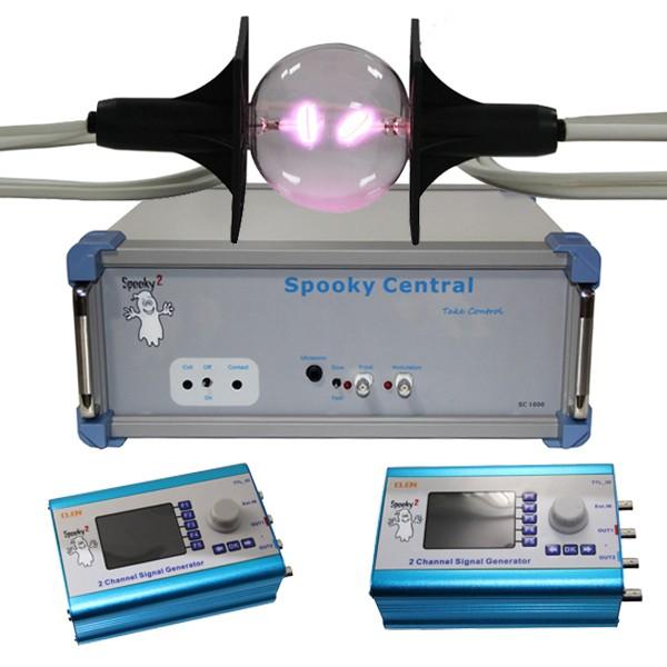 Spooky kit central essentiel avec tube plasma phanotron